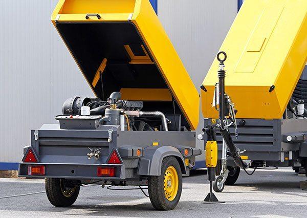 Gebrauchte Kompressoren Fernansicht - GERL SERVICES